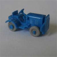 Baggage Tractor - Blue
