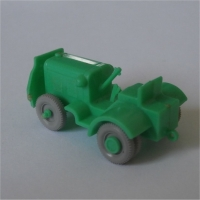 Baggage Tractor - Green