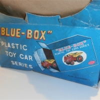 Blue Box Counter Display Box