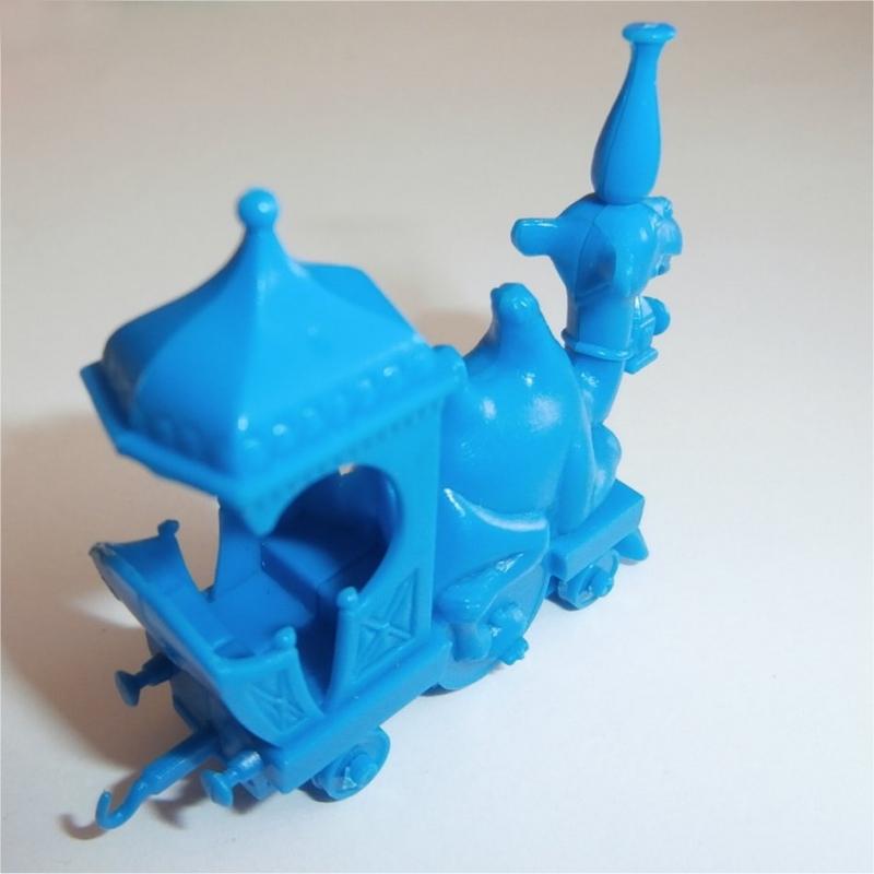 Camel Train Engine  (Blue) R&L Cereal Toy