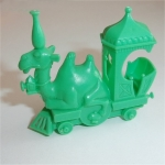 Camel Train Engine  (Green) R&L Cereal Toy