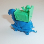 Camel Train Sleeping Wagon (Blue) R&L Cereal Toy