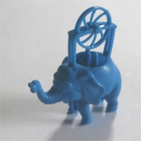 Flying Elephant Blue