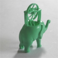 Flying Elephant Green