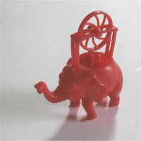 Flying Elephant Red