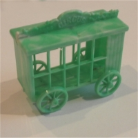 Lion Cage - Green White