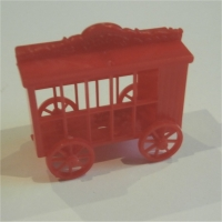 Lion Cage - Red