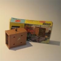 Corgi 607 Elephant Cage Kit