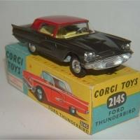 Corgi Toys 214S Ford Thunderbird 2 door Hardtop