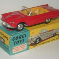 Corgi Toys 215S Ford Thunderbird 2 door Convertible