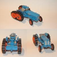 Corgi 54 Fordson Power Major Half-track Tractor