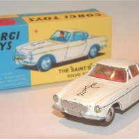 Corgi 258 The Saints Volvo P1800