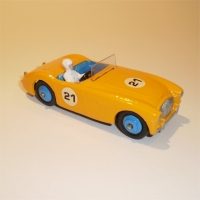 Dinky Toys 109 Austin Healey Yellow