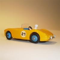 Dinky Toys 109 Austin Healey Yellow
