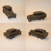 Dinky 152b Staff Car
