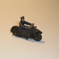 Dinky 37b Police motorcycle