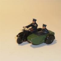 Dinky 42b Motorcycle Patrol