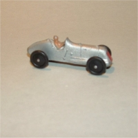 Dinky Toys 35b Racing Car Silver #2