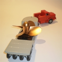 Dinky 986 Mighty Antar with Propellor load