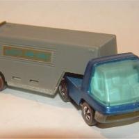 Hotwheels Moving Van - Blue / Grey