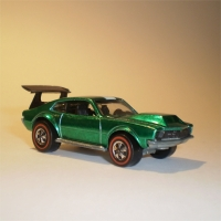 Hotwheels Mighty Maverick - Green