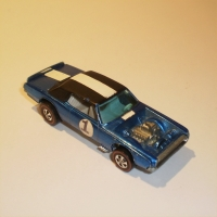 Hotwheels TNT Bird - Blue