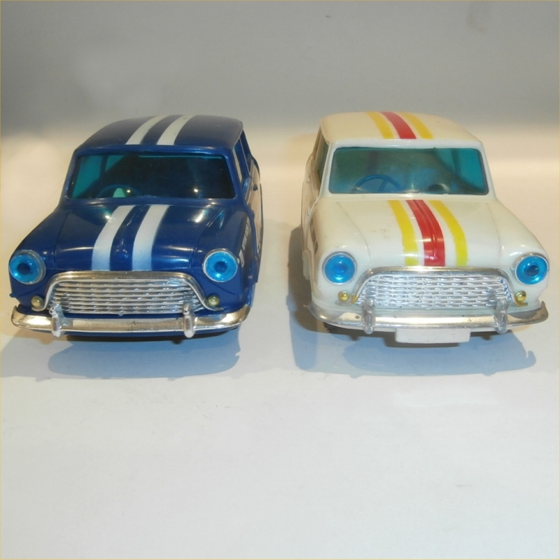 Plastic Mini Cooper Comparison