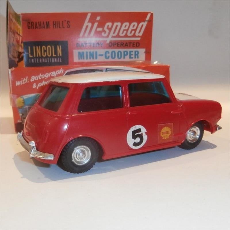Plastic Mini Cooper (Lincoln)