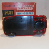 Plastic Mini Cooper (Lincoln)
