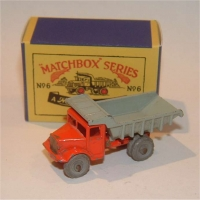 Matchbox 6a Tipper