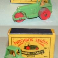 Matchbox 1b Road Roller