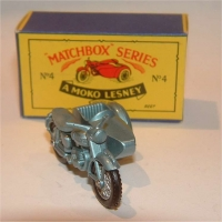 Matchbox 4c Triumph Motorcycle
