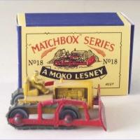 Matchbox 8a Caterpillar Dozer