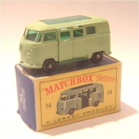 Matchbox 1-75 34 VW Camper
