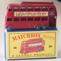 Matchbox 1-75 56a Trolleybus