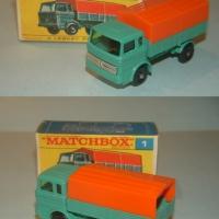 Matchbox 1 Mercedes Truck