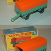 Matchbox 2 Mercedes Trailer