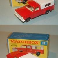 Matchbox 6 Ford Pickup