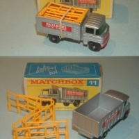 Matchbox 11 Scaffold Truck