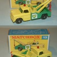 Matchbox 13 Dodge Wrecking Truck