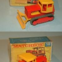 Matchbox 16 Case Tractor