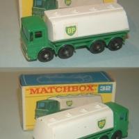 Matchbox 32 BP Tanker