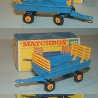 Matchbox 40 Hay Trailer