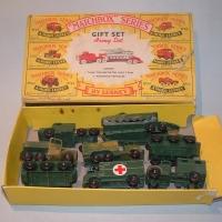 Matchbox Gift Set 5 Army Set