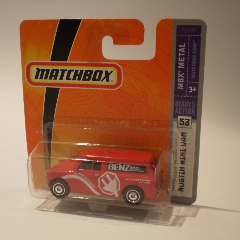 Matchbox 53 Austin Mini Van