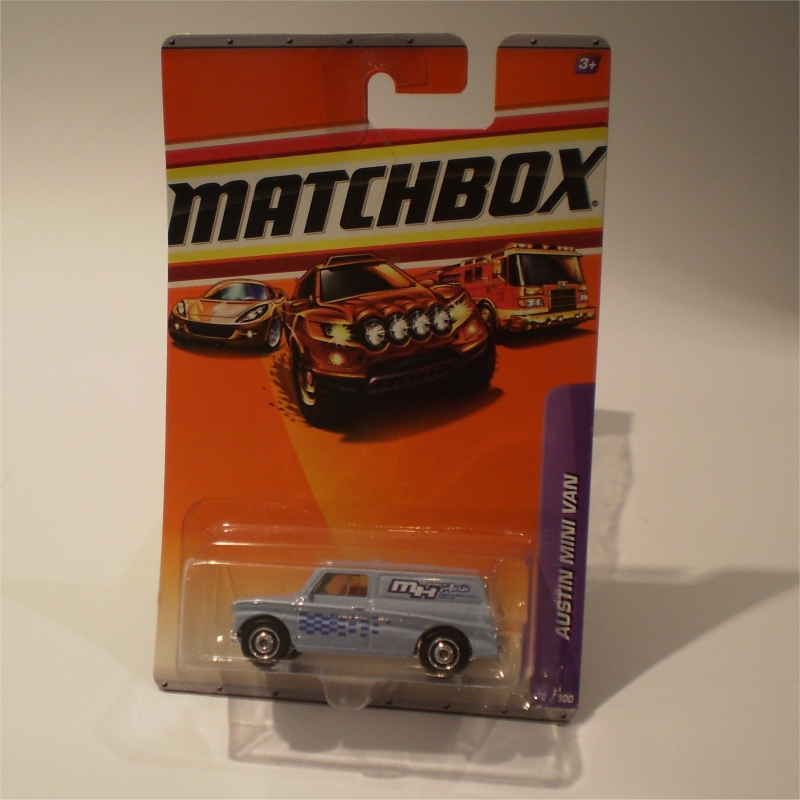 Matchbox 72 Austin Mini Van