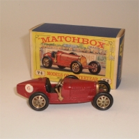 Matchbox Yesteryear Y6 Bugatti