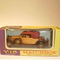 Matchbox Yesteryear Y15 1930 Packard Victoria