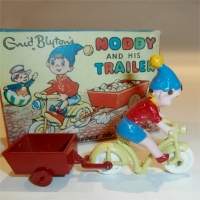 Morestone Noddy with his Bicycle & Trailer
