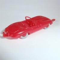 Jaguar E-Type - Red with Towbar